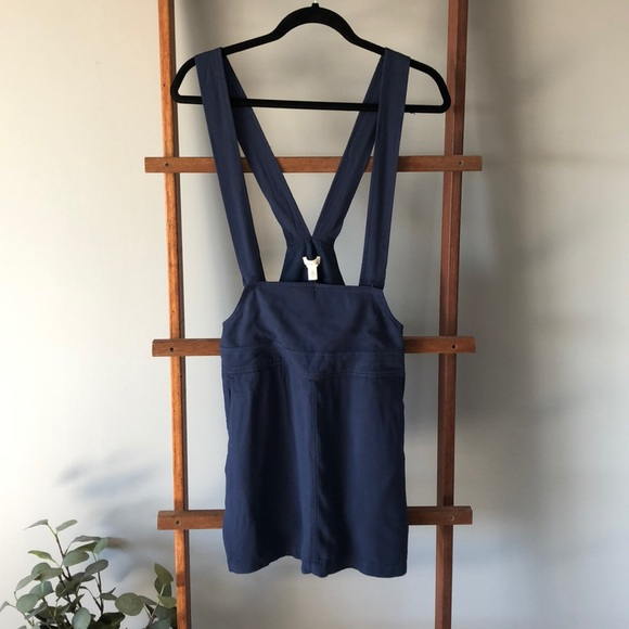 UO silence + noise mini skirt with suspenders sz M